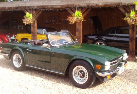 Triumph Tr6 Ground Up Restoration Carnell Classic Cars